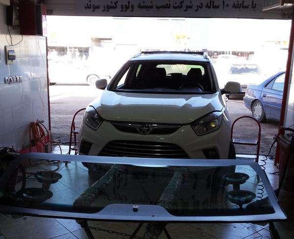 نصب شیشه اتومبیل رعد یوسفی سابقه کار در ولوو سوئد