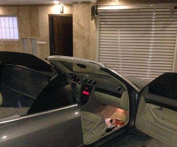 دودی شیشه اتومبیل