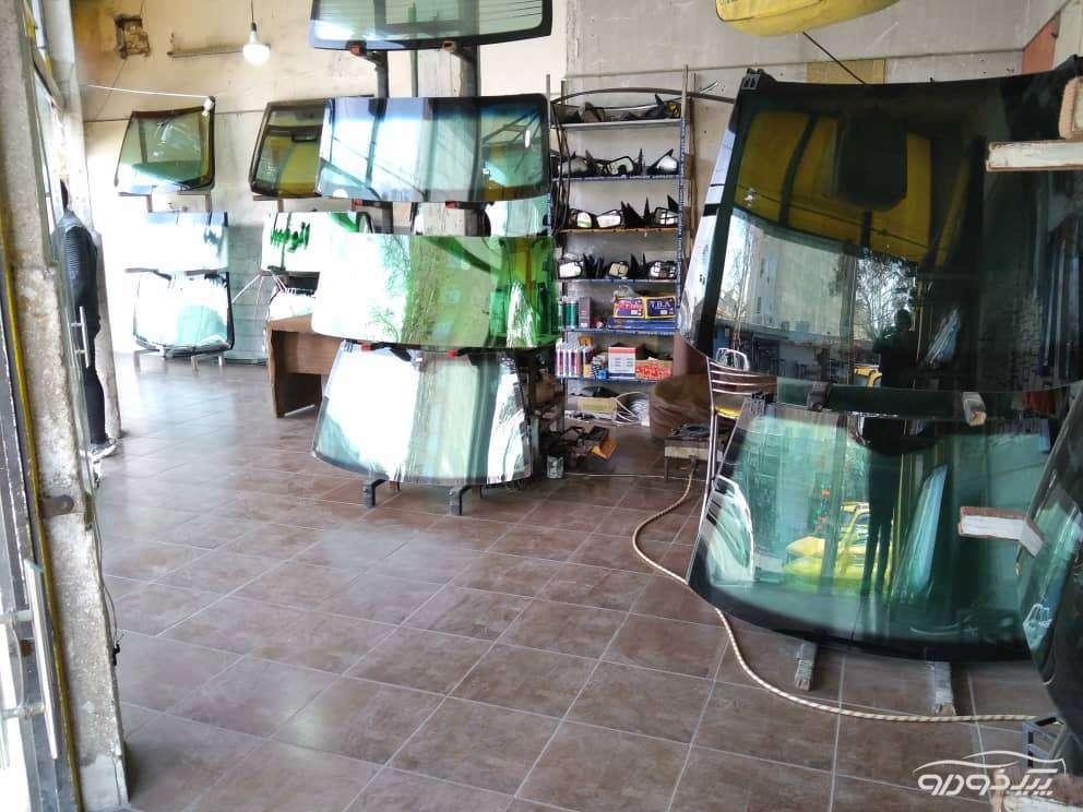 نصب و فروش شیشه اتومبیل در ورامین