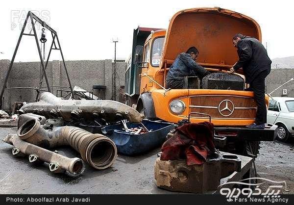 تعمیرگاه ماشین سنگین نیشابور