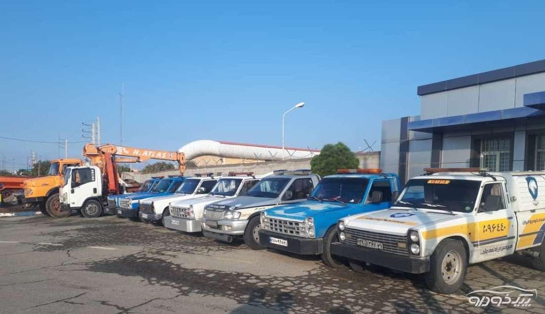 امداد خودرو یدک کش رباط کریم پرند اتوبان تهران ساوه غدیر