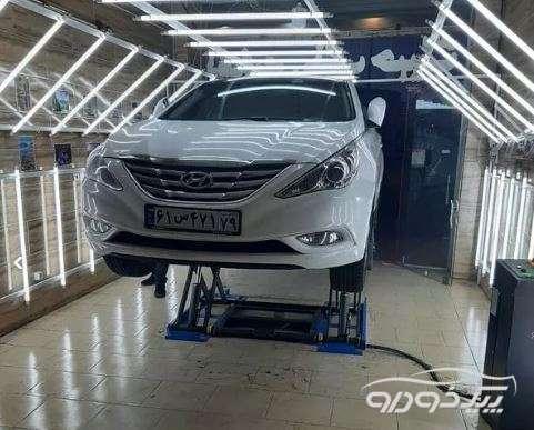 تشخیص رنگ خودرو در قزوین