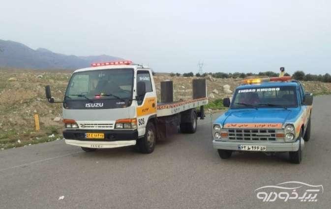 امداد خودرو منجیل