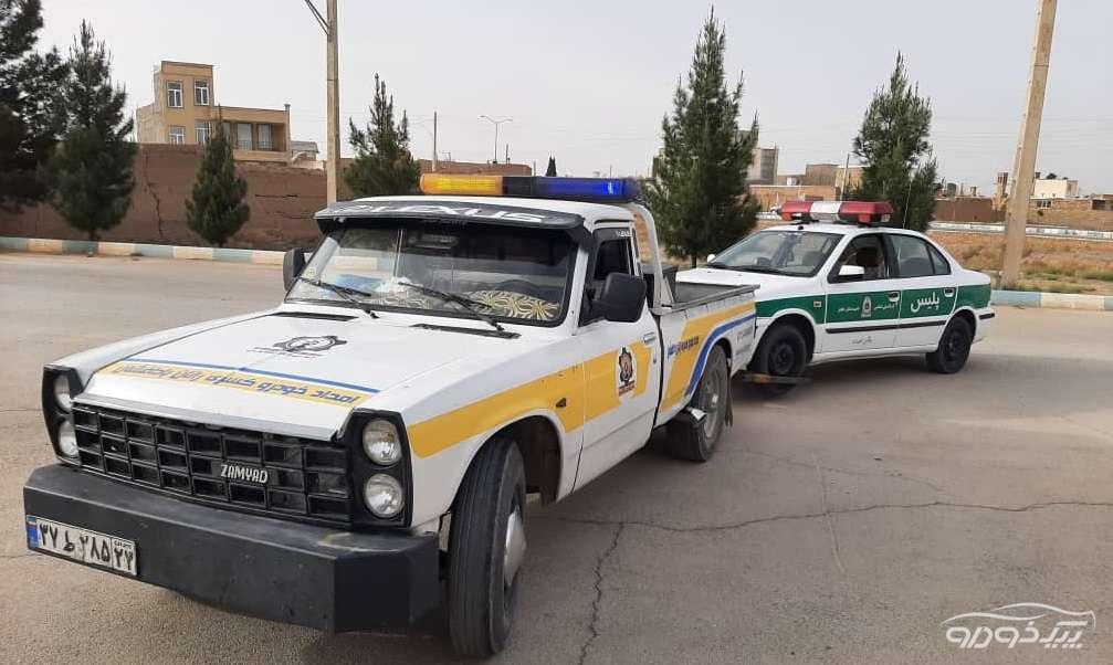 امداد خودرو یدک کش نطنز و بادرود