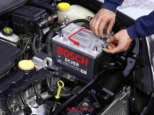 برق اتومبیل امید