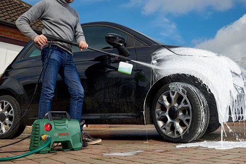 شستشو و خشکشویی اتومبیل(کارواش) در خمین
