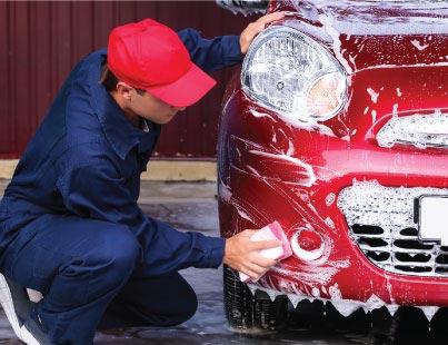 شستشو و خشکشویی اتومبیل(کارواش) در بهار